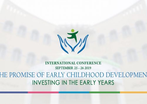 International Conference on Early Childhood Development, 2019