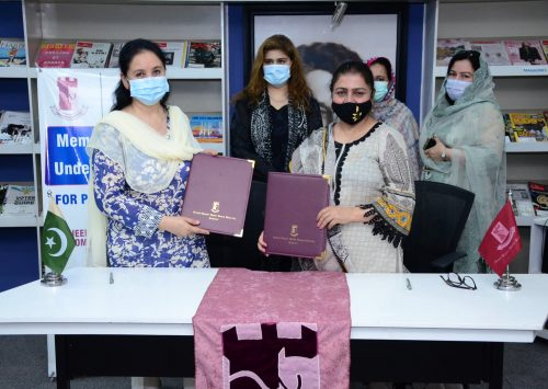 Pakistan Alliance for Early Childhood Signs an MoU with Shaheed Benazir Bhutto Women University, Peshawar